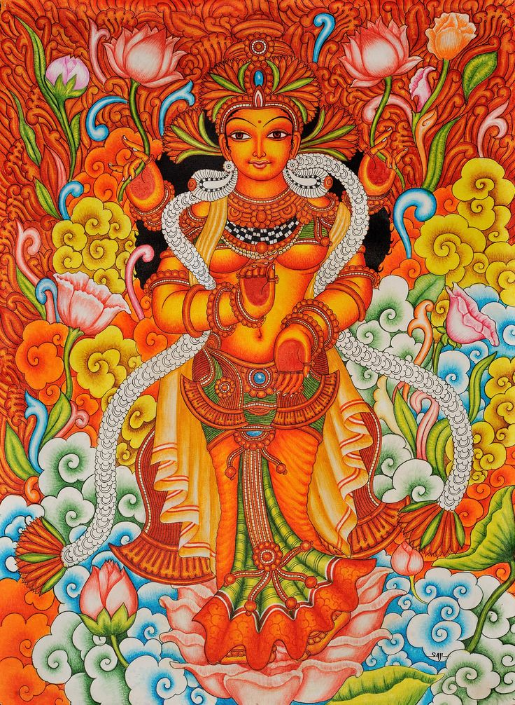 Goddess Lakshmi Who Gives Money