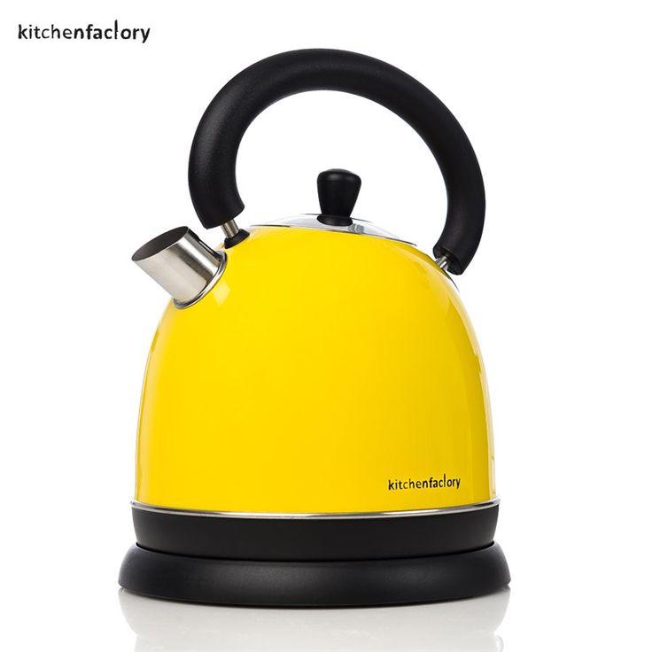 Vannkoker fra Kitchenfactory i lekkert design - 2200W