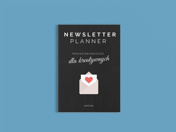 Planer do pobrania i wydrukowania, ułatwiający planowanie newsletterów. Zupełnie za darmo!