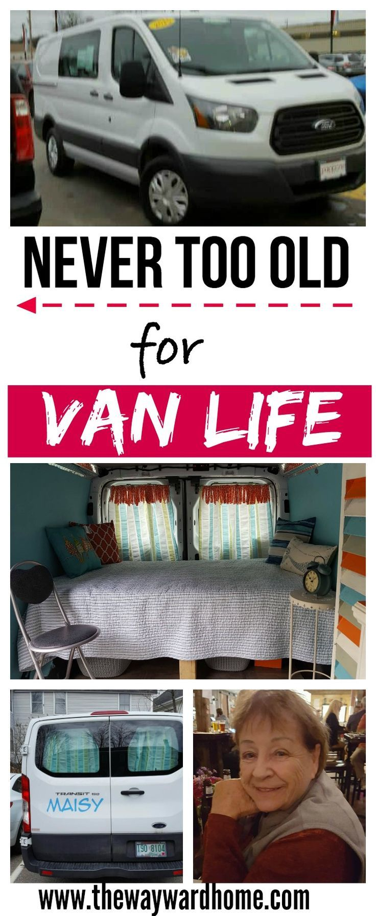 A 79-year-old woman is planning on traveling in her Ford Transit campervan conversion. See how she plans on doing it! #vanlife #fordtransit #vanconversion #campervan #diycamper #diyconversion