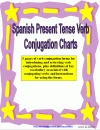 Spanish Verb Conjugation Charts - Present Tense product from Sue-Summers on TeachersNotebook.com