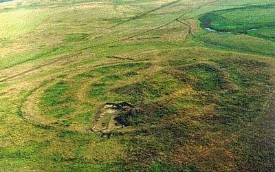 Arkaim, aerial photography