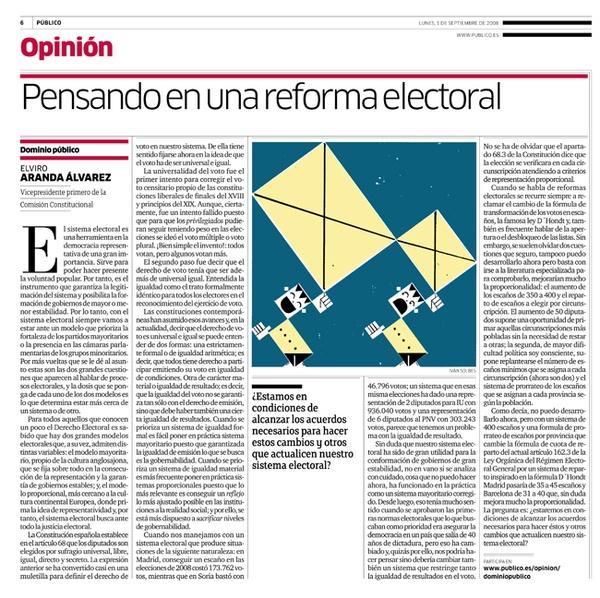 Electoral reform by Ivan Solbes, via Behance