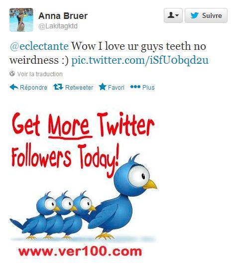 Get More Twitter Followers Today ! ou comment acheter des followers...