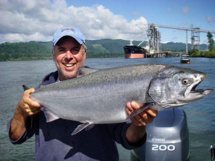 216 best images about fishing on pinterest big fish for Salmon fishing washington
