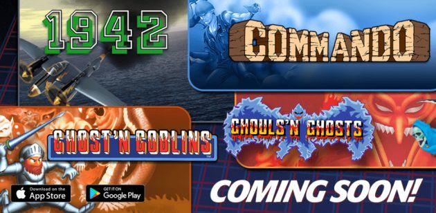 Capcom porterà tanti vecchi giochi arcade su iPhone