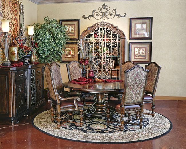 136 best dining room ideas images on pinterest primitive dining rooms country style kitchens - Tuscany dining room furniture ideas ...