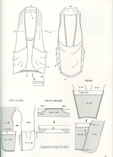DRAPE DRAPE 2 BY HISAKO SATO - JAPANESE SEWING PATTERN BOOK FOR ELEGANT AND GORGEOUS DRESS, DRESSES 11 by JapanLovelyCrafts, via Flickr