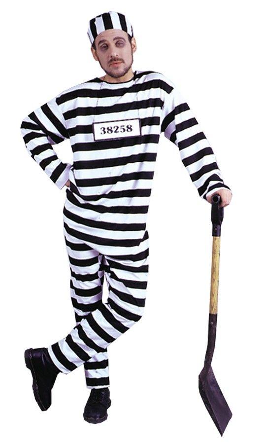 Black dress jumpsuit prisoner