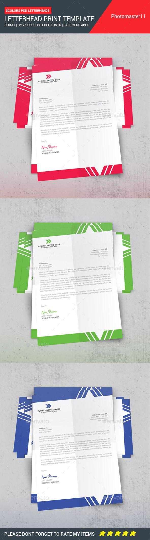 Atemberaubend Briefpapier Vorlagen Wort Fotos - Beispiel Business ...