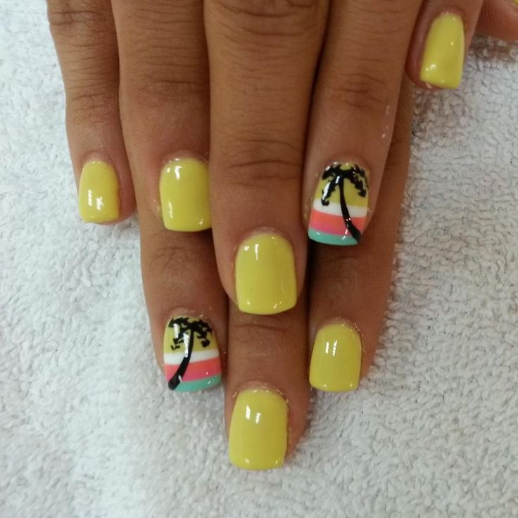 Nail Design Ideas Palm Tree : Ideas about palm tree nails on