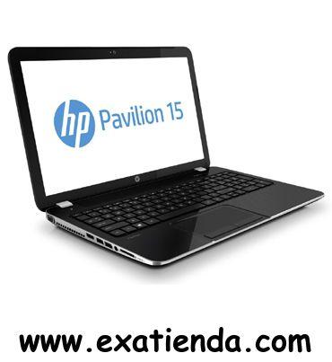 """Ya disponible Nb HP pavilion 15 n058ss a10    (por sólo 679.99 € IVA incluído):   -Procesador:AMD Quad-Core A10-5745M APU con gráficos Radeon HD 8610G (2,1 GHz, 4 MB de caché, 4 núcleos) -Memoria: DDR3 de 8 GB -Hdd:SATA de 500 GB 5400 rpm -Óptico:SuperMulti DVD±RW con soporte de doble capa -Pantalla:TFT LED 15.6"""" BrightView (1366 x 768) -Graficos:GPU AMD Radeon HD 8610G/8670M Dual (DDR3 dedicada de 2 GB) -Webcam: Integrada -Conectividad: *Lan:10/100 BASE-T Ethernet L"""