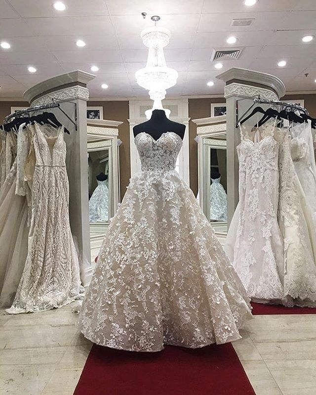 Find your dream bridal gown at @bridalreflectionsny! | Couture ...