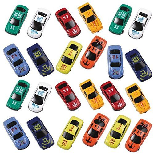 To use for prizes r mini give aways?    Fun-Filled Die Cast Cars Party Mega Value Pack Favours, M...