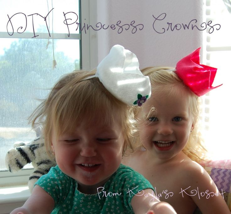 DIY Felt Crowns, Perfect for Parties and Dress Up from Kayla's Kloset
