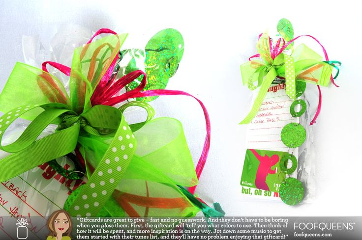 Gift Gloss (easier way to wrap with flair)