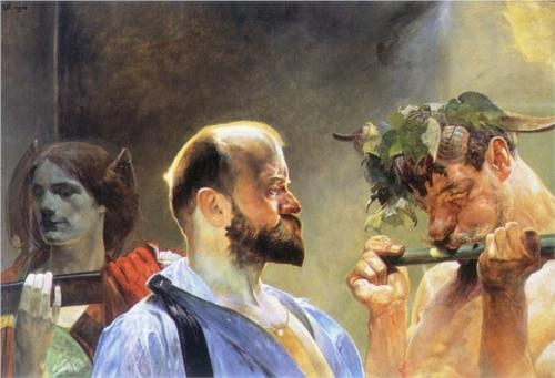 Jacek Malczewski artist / more pix@ /www.JasonAthen.com