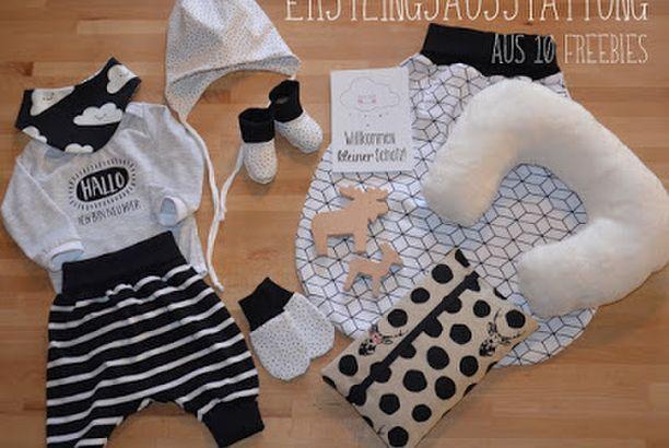 Babys kleine Grundausstattung aus 10 Freebies