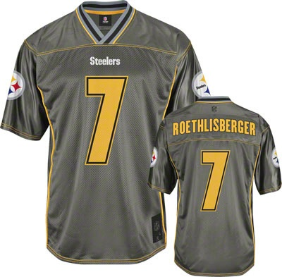 Ben Roethlisberger Pittsburgh Steelers Vapor Jersey