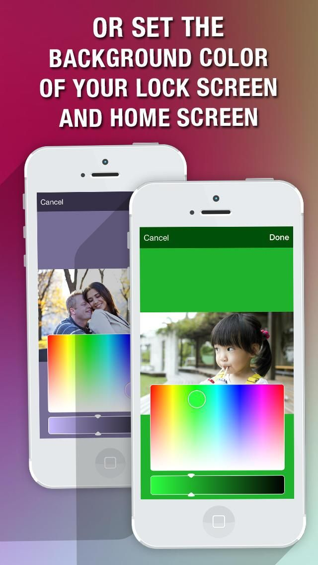 Fixer - Wallpaper Fix  Custom Backgrounds Creator for iOS 7 Lock