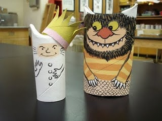 obsessed with toiler paper roll crafts: Toilets Paper Tube, Paper Rolls Crafts, Crafts Ideas, Toilets Paper Rolls, Wild Things, Toilets Rolls Crafts, Kids Crafts, Paper Rolls Art, Toilet Paper