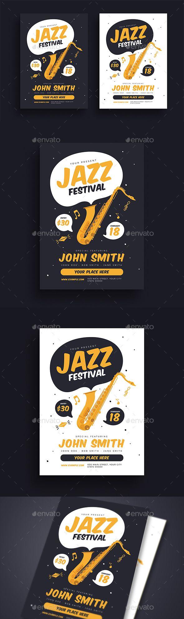 Jazz Festival #Flyer – Events Flyers