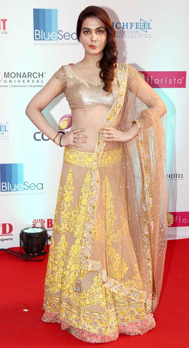Ankita Shorey : Photos: Celebs on the red carpet at Miss India 2014