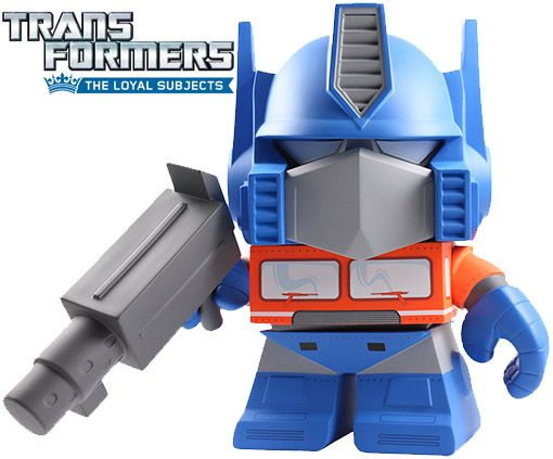 Transformers Optimus Prime de Vinil