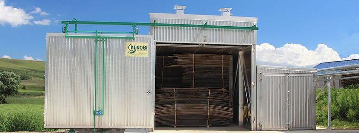 Kenobi tehnica uscării - uscătoare lemn, cazane industriale, prese de brichetat, tocătoare, prese peleti, peletizare