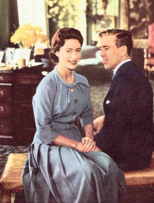 De verloving van prinses Margaret van Engeland en Antony Armstrong Jones.