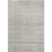 Found it at Wayfair - Boulevard Light Grey Chevron Area Rug
