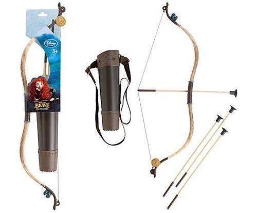 Disney Store Brave Merida Archery Bow and Arrow Costume Accessories Set New #Disney