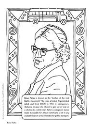 Famous African-American Coloring Pages-February is Black History Month. Kids can learn and have fun with our coloring pages of famous African-American scientists, inventors, athletes, and more.
