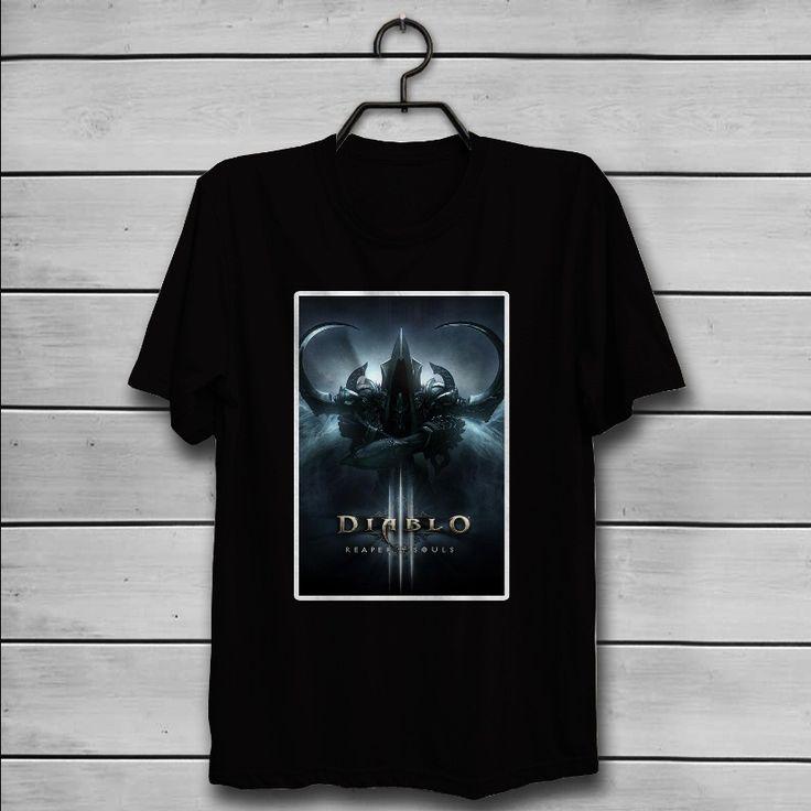 Diablo 3 Reaper Of Souls Custom T-Shirt Tank Top Men and Woman