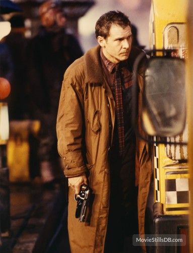 Blade Runner - Publicity still of Harrison Ford