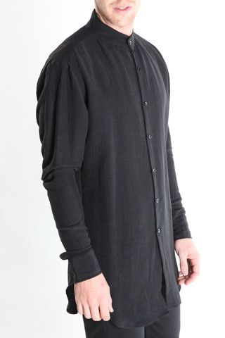 Band Collar Shirt – machus