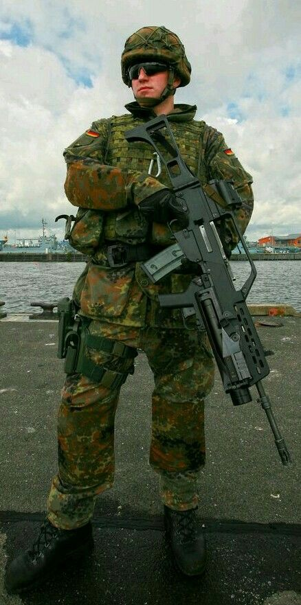 The current soldier of the Bundeswehr