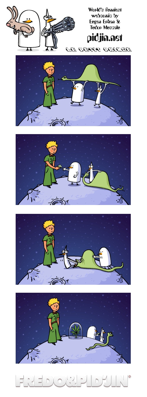 Le petit prince  World's funniest webcomic by Eugen Erhan & Tudor Muscalu