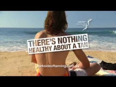 There is nothing healthy about a tan. Although a tan may look good it is a very serious problem.