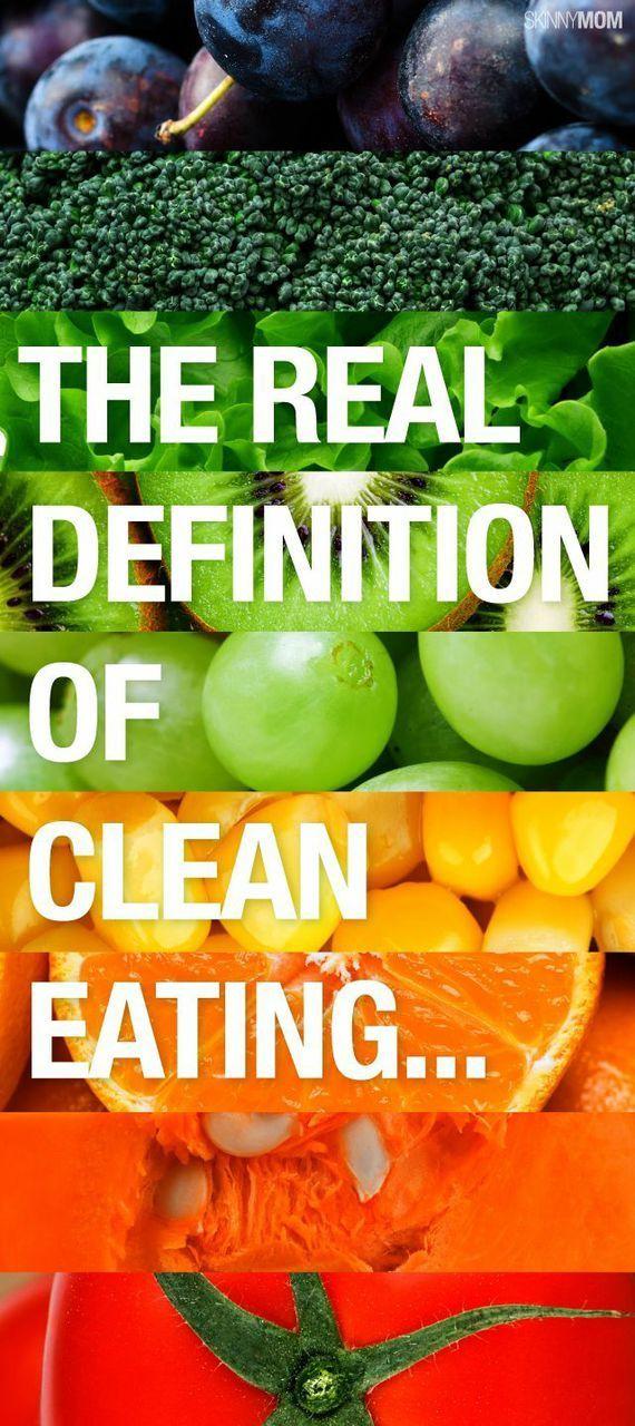 ¿Qué Significa Comer Limpio?
