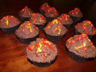 vulkaan cakejes