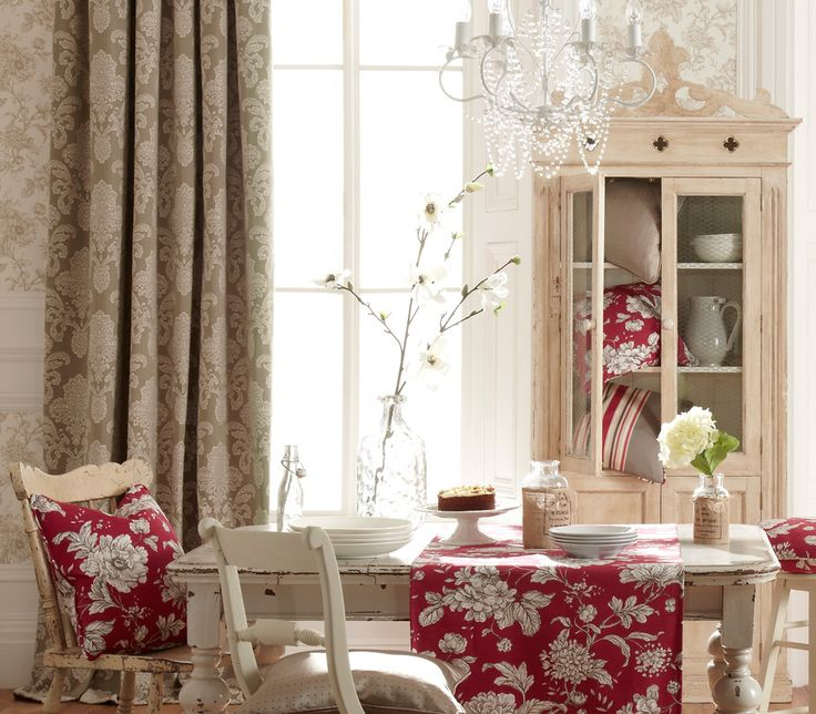 iLiv Ardenne Curtains inspired by the elegant and classical styling of regions in France. The Ardenne Curtains comprise beautiful Toile style floral prints and luxurious Jacquards!