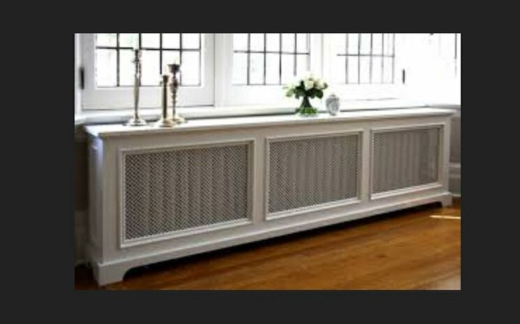 how to build a bench over a radiator