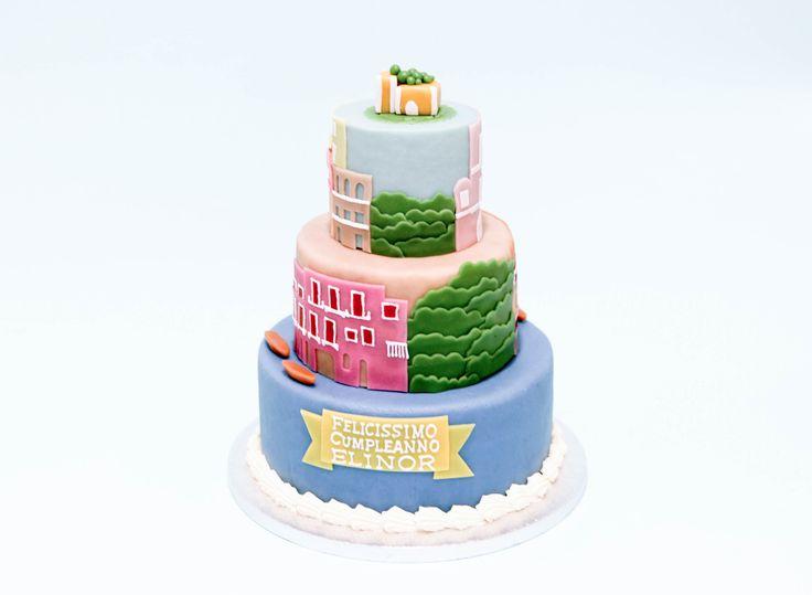 Positano Cake by Pâtisserie Chez Bogato 7 rue Liancourt, Paris 14e. Ouvert du mardi au samedi de 10h à 19h. Tel. 01 40 47 03 51 Cake Design Birhtday cake Gâteau d'anniversaire
