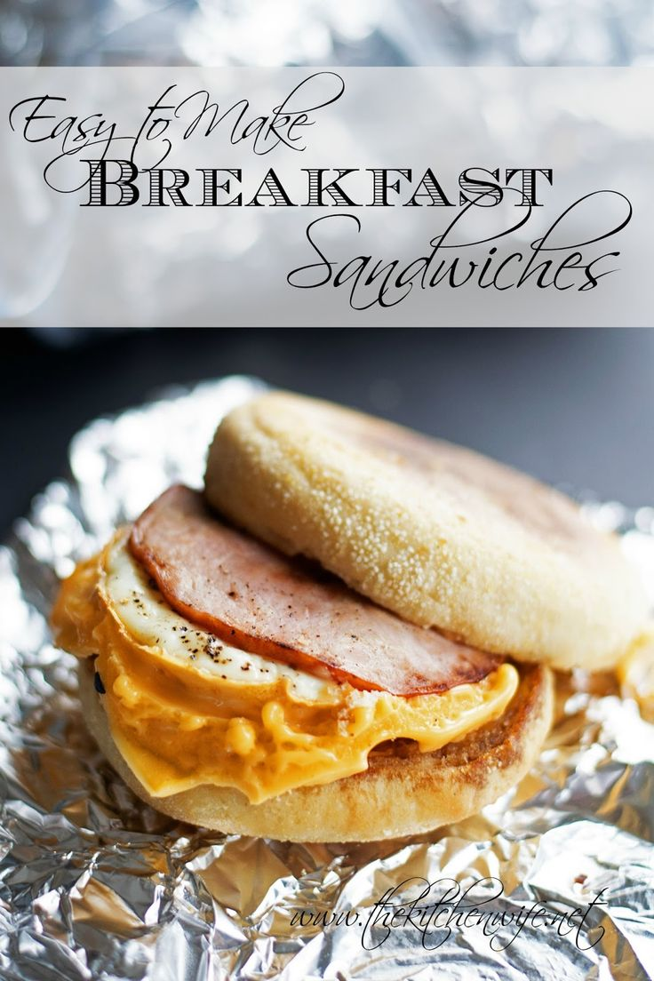 I can make enough of my Easy to Make Breakfast Sandwiches to provide yummy breakfast goodness for an entire week!