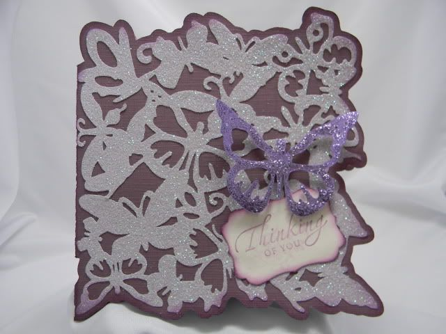 Thinking of You Card with Paper Lace Cartridge - Paper Lace Cartridge [2000590] - Cricut Forums