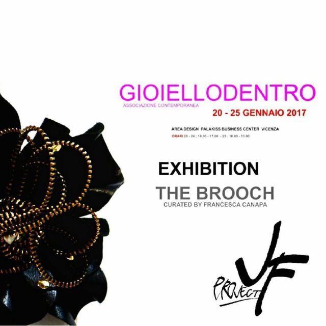 20-25 Gennaio 2017: #TheBrooch ✅#exhibition #mostra #JF#Mantova ➡ #Vicenza #JFproject #GioielloDentro #GioielloContemporaneo #ContemporaryJewel #design #art #jewels #Icon #brooch #spilla #details