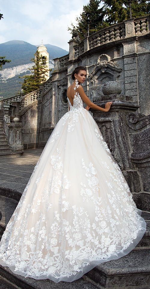 Milla Nova Bridal 2017 Wedding Dresses milena3 / http://www.deerpearlflowers.com/milla-nova-2017-wedding-dresses/19/