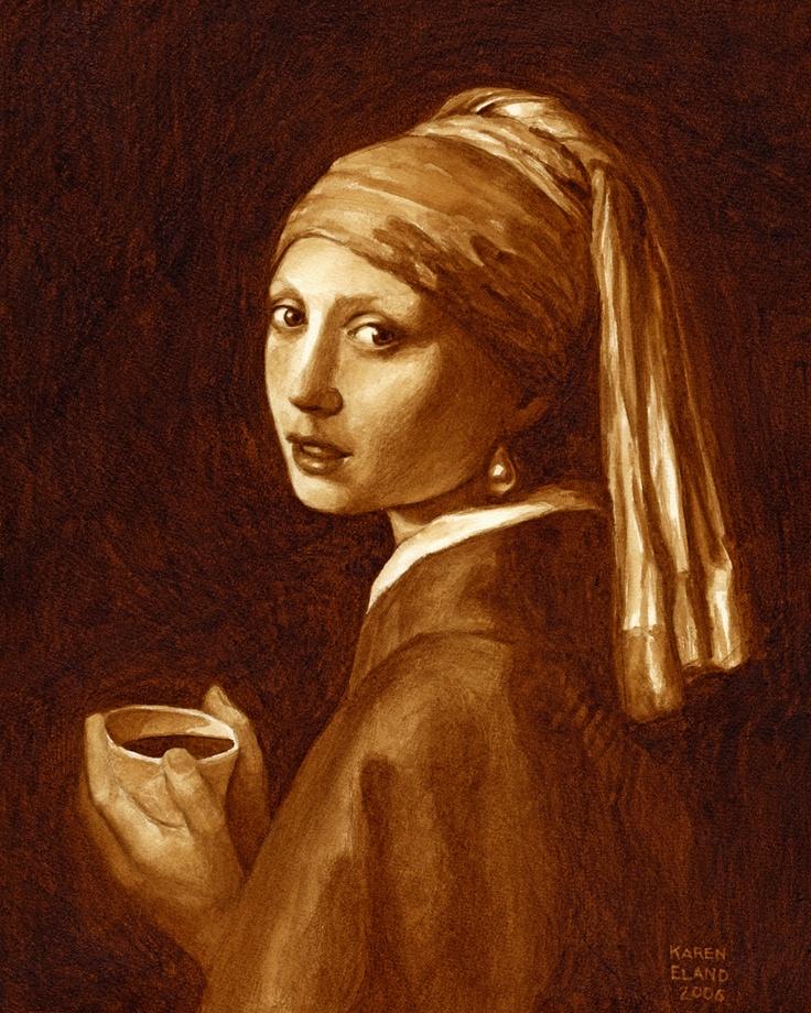Coffee Art Painting