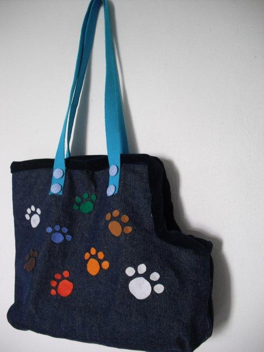 Bolsa Artesanal para Cachorros e Gatos- lace handmade bag pets dog